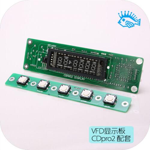 Philips CDpro2-LF movement turntable VFD control panel official program program