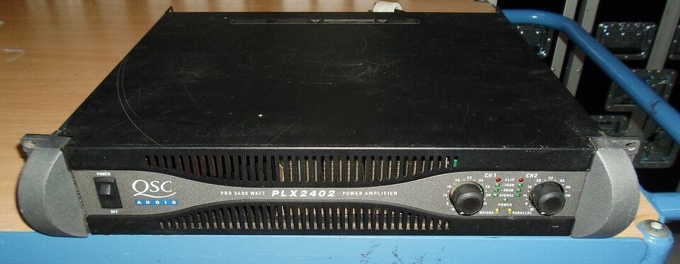 Effektforstærker, QSC PLX 2402