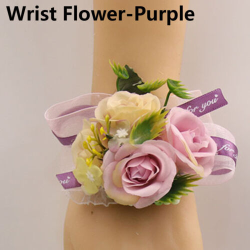 New Gifts Wrist Corsage Bracelet Bridesmaid Sisters Hand Flower Wedding Supplies