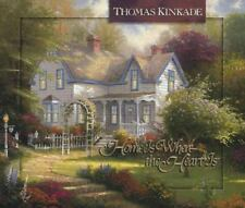 Home Is Where the Heart Is (Thomas Kinkade's Lighted Path Collection) by Kinkade