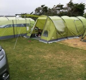 Vango Icarus 500 Family Tent + Awning Package | 5 Person ...