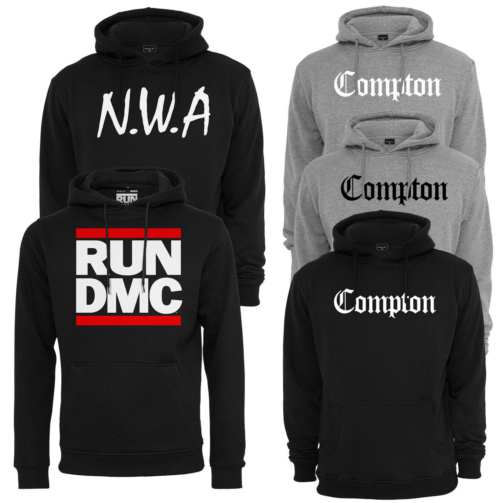 Mister Tee Compton Logo Nwa Hoody Hip Hop Run DMC Hooded Sweatshirt