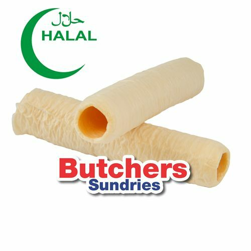 Butchers-Sundries HALAL 30mm 2 pack Sausage casings / collagen 180ft per pack