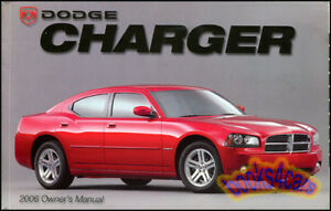 2006 charger owners manual dodge handbook guide book new 06 r t hemi rh ebay com 2006 charger manual transmission 2006 dodge charger manual transmission swap