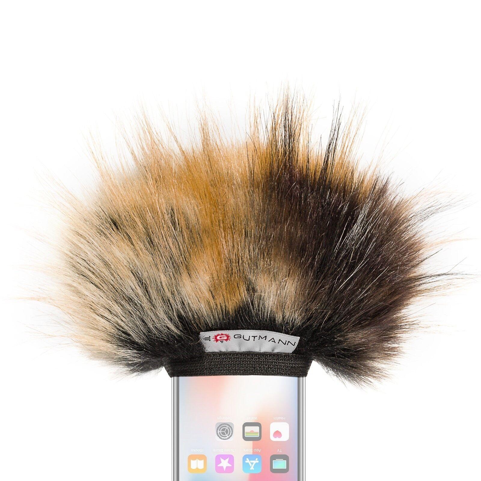 Gutmann Microfono Predezione Dal Vento per Apple Iphone x XS Max Premium Edition