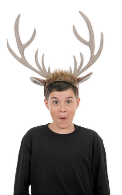 Disney Sven Frozen Reindeer  Child Kids Adult Headband With Antlers Elope NEW
