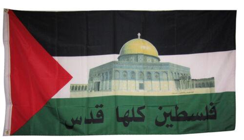 2 Pack 3x5 3'x5' Wholesale Set USA American /& Palestine Capital Flag Banner