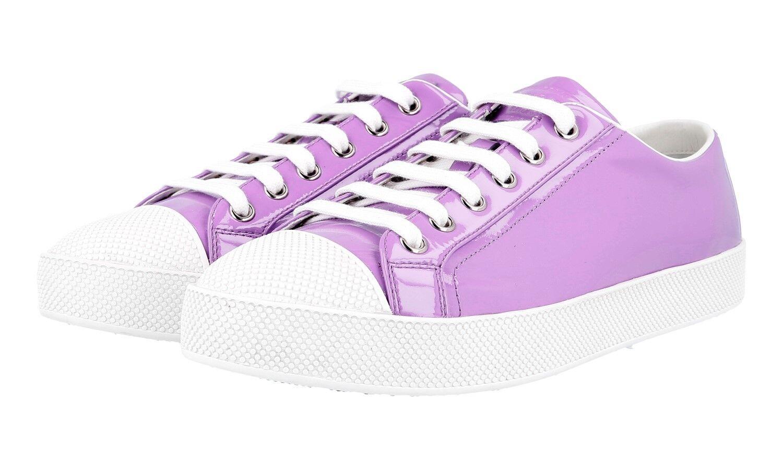 zapatos PRADA PRADA PRADA LUXUEUX 3E6202 púrpuraTA NOUVEAUX 37 37,5  Sin impuestos