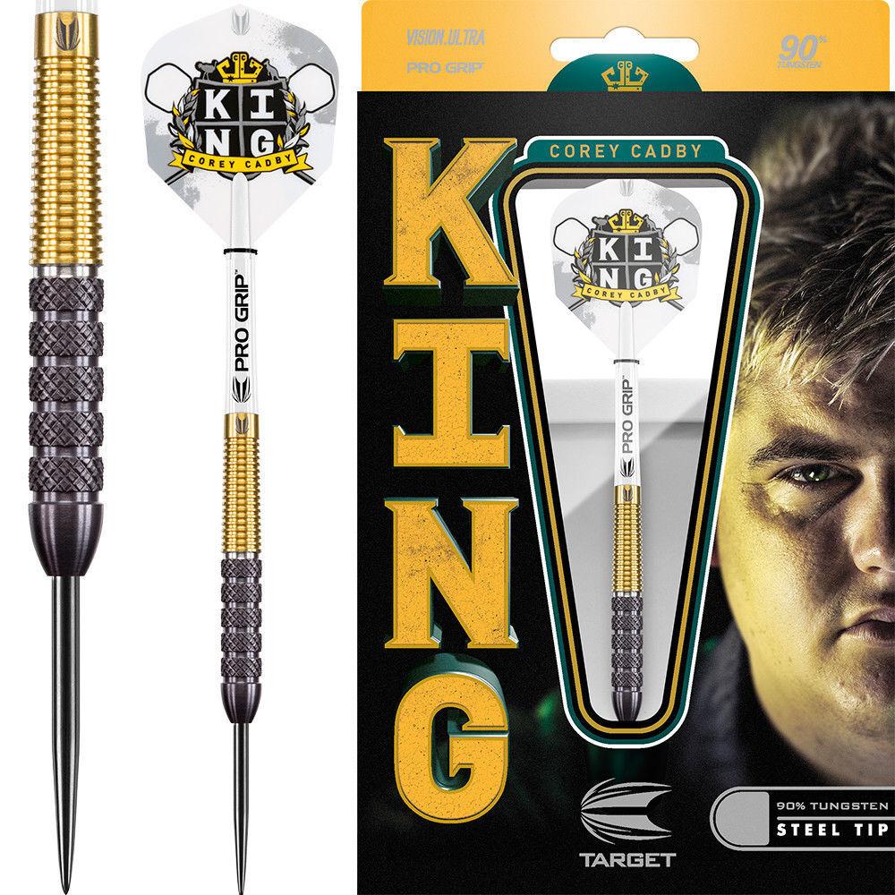 Target Corey Cadby Darts - King - Steel Tip Tungsten