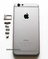 """Space Gray Back Housing Battery Cover Mid Frame Replacement for iPhone 6 4.7"""""""