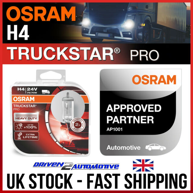 OSRAM LED Cool White 233 24V T4W 249 Nmuber Plate Festoon Interior Retrofit Bulb
