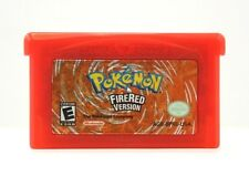 POKEMON FIRE RED Version Gameboy Advance SP DS - Tested, Saves! - USA Seller!!