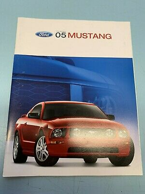 Mustang GT, 2003 Ford Showroom Concept Car Sales Brochure,Ford GT