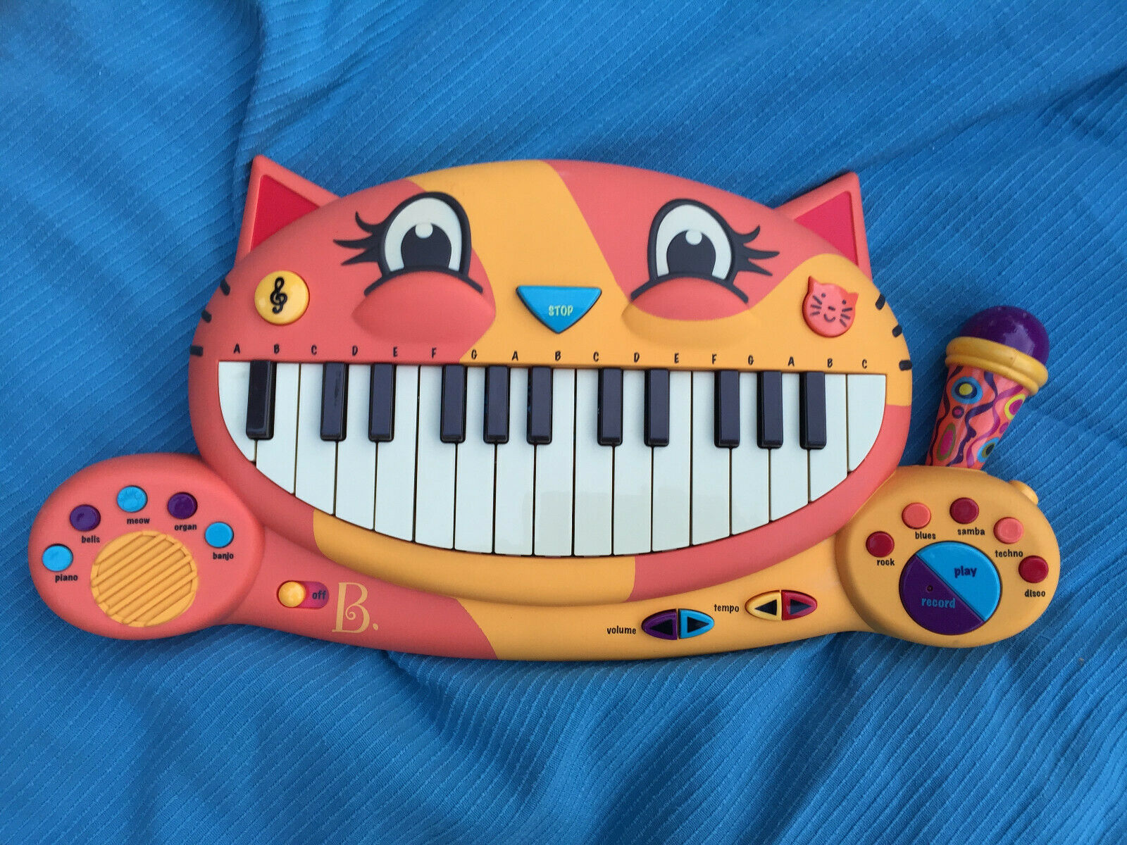 Justb Byou Cat Piano musical keyboard  toy Just b b you justb-byou