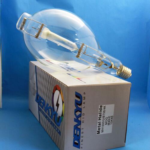 MH1500//U//4K//BT56 DENKYU 10446 1500W Metal Halide Lamp M48//E MOG Bulb 6