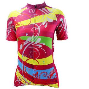 Scrawling Women s Cycling Jersey Cycling Shirt Ladies Mountain Bike ... b8a4fdfbe