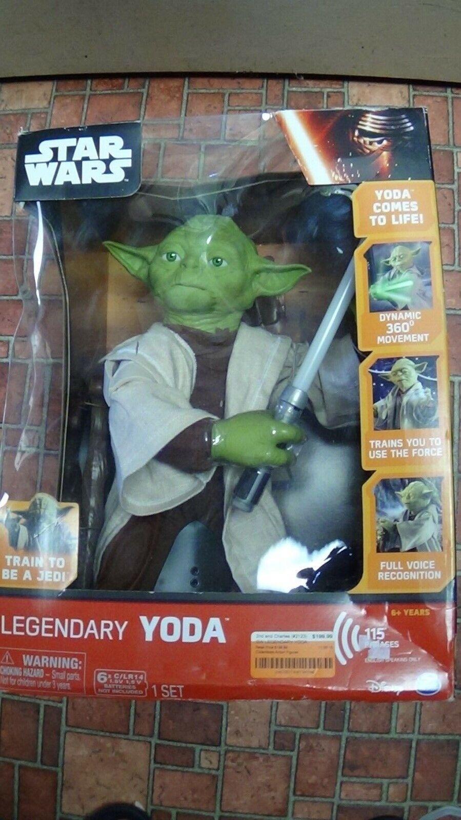 STAR WARS LEGENDARY YODA Figure Figure Figure Jedi Master Toy Collectors Box Edition 48c60e