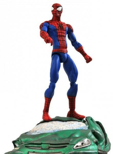 Marvel Marvel Marvel Select figurine Classic Spider-Man 18 cm collector action figure 07249 0f150b