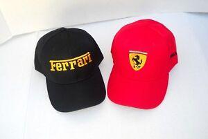 Ferrari-Logo-Cap-458-Italia-Spider-488-GTB-California-T-FF-F1-Racing-Hat