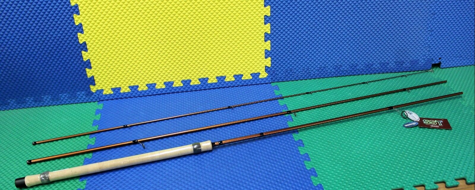 Okuma SST 13' 4  Spinning Float Rod  3  Piece SST-S-1343FR  cheap sale outlet online