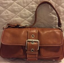 Michael Kors Earthy Rich Full Grain Caramel Vintage Medium/large Handbag