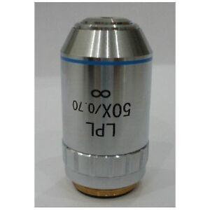 New-METALLURGICAL-MICROSCOPE-50X-INFINITY-PLAN-Achromatic-Long-OBJECTIVE-Lens