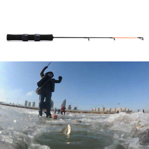 0.5M Carbon Ice Fishing Rod Mini Pole Winter Ultra-light Fishing Accessorie Fp