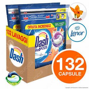 132-Pastiglie-Dash-3in1-Pods-Ambra-Detersivo-Lavatrice-in-Capsule-132-Lavaggi