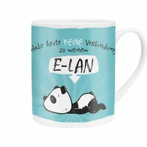 Sheepworld-XL-Tasse-Heute-keine-Verbindung-zum-E-LAN-Panda-Kaffeetasse-Teetasse