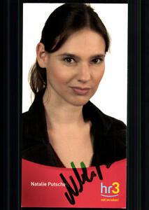 Natalie-Putsche-HR-Autogrammkarte-Original-Signiert-BC-24395