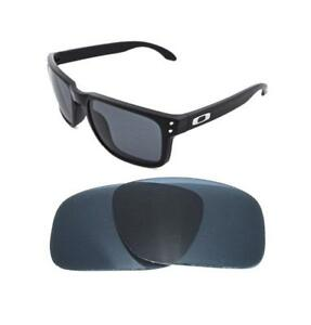 fc6820c0d1b Image is loading NEW-BLACK-REPLACEMENT-LENS-FOR-OAKLEY-HOLBROOK-SUNGLASSES