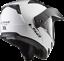 LS2-FF324-METRO-EVO-DUAL-VISOR-FLIP-FRONT-MOTORBIKE-ADVENTURE-HELMET-GLOSS-WHITE thumbnail 4