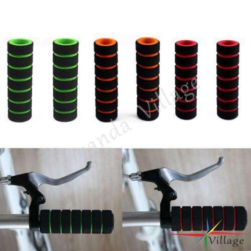2x MTB Bike Racing Bicycle Motorcycle Handle Bar Foam Sponge Grip Cover Nonslip