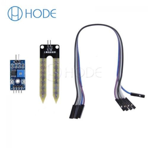 10PCS módulo de Detección Higrómetro Sensor de humedad de suelo para arduino Smart Car