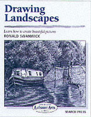 "1 of 1 - ""NEW"" Drawing Landscapes (SBSLA11) (Art Handbooks), Swanwick, Ronald, Book  bPro"