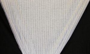 Ivory Silver Open Weave Drapery Fabric By The Yard Ebay