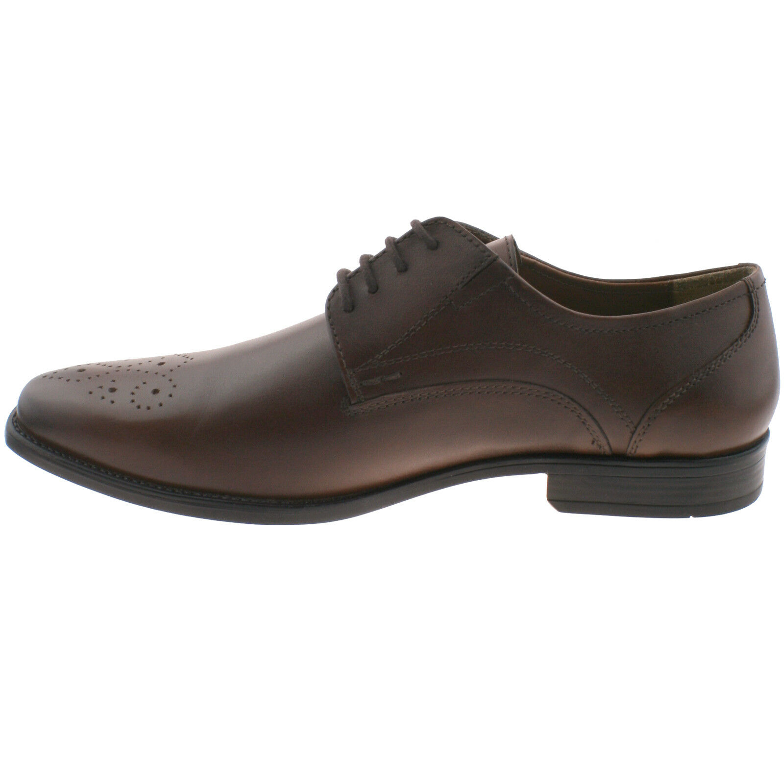 Da Uomo LOT  rifiniture marroni in in pelle stringati in in Memory Foam ufficio SMART Shoes 1b4faa