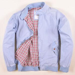 Gr Sherman Bomberjacke Jacket Blau M 57247 wie Harrington Jacke Ben Herren l gYZffwAqF