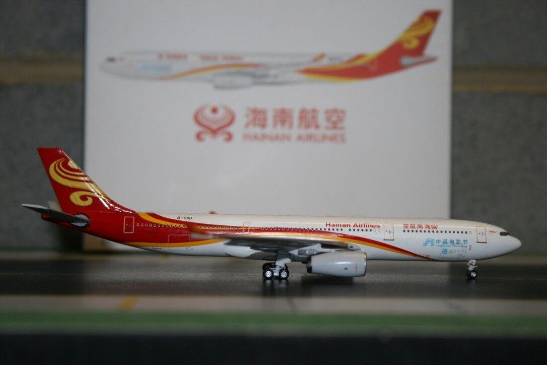 Aeroclassics 1 400 Hainan Airlines Airbus A330-300 B-8118 (ACB8118) Die-Cast