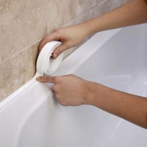 Quick Easy Sticky Foam Bath Side Bathroom Shower Sealant