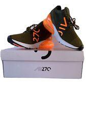 Nike Air Max 270 Flyknit Olive Flak
