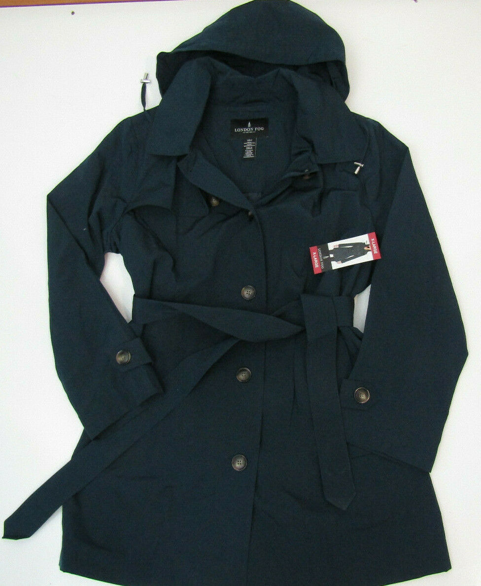 London Fog Stand Collar Anorak Jacket Size L For Sale Online Ebay