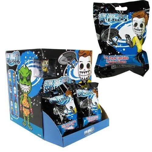 24 x Star Trek - Skele-Trek Mini Figure Blind Bags - Series 1