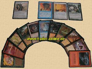 20 ungew Weiß deutsch UNCOMMON PACK original Magic Karten Sammlung Lot