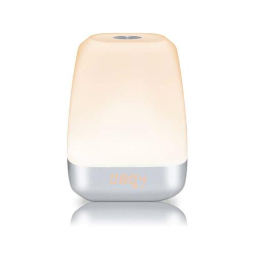 EasyAcc LED Natürliche Wake-Up Sonnenaufgang Simulation Wecker Therapie Lampe