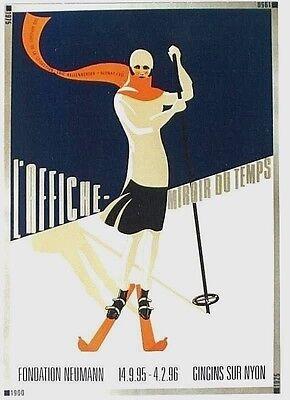 Original vintage poster EXPO VINTAGE POSTERS SKI SPORT 95
