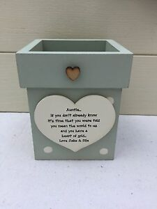 Personalised-Shabby-Flower-Pot-Chic-Aunty-Auntie-Gift-Great-Aunt-ANY-NAME