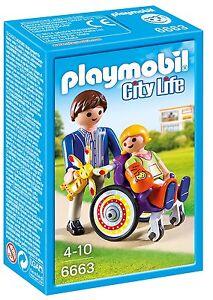 Playmobil-City-Life-6663-Nino-en-silla-de-ruedas-De-4-a-10-anos