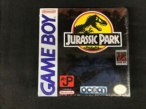 Jurassic-Park-Nintendo-Game-Boy-1993-Brand-New-Factory-Sealed