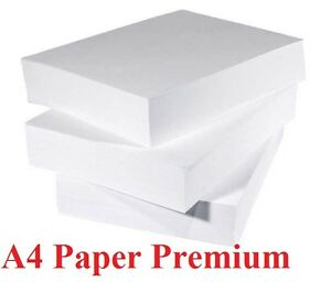 A4 Printing Paper 80GSM High Speed Printing Paper 2500 Sheets 5 x Reams New